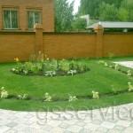 Укладка рулонного газона в Казани компания ГринСтройСервис