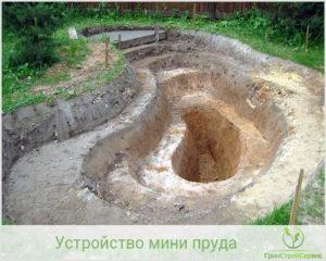 подготовка ямы для бассейна