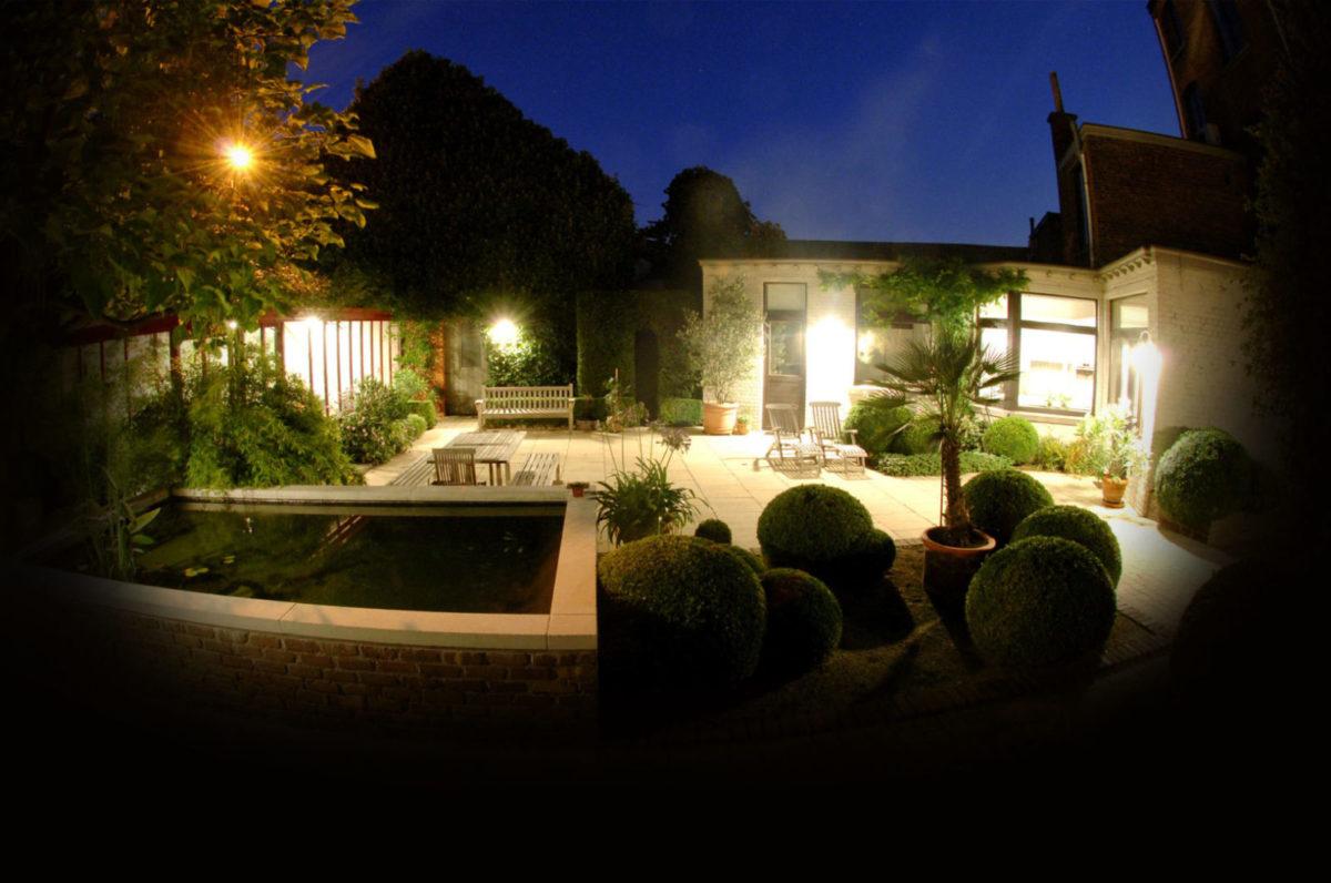 Iluminacion exterior jardin precios