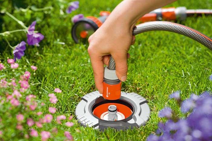 автоматический полив для дачи и огорода