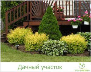 Ландшафтный дизайн дачного участка в Казани