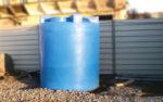 пластиковые бочки для воды на дачу