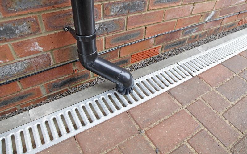 Дренажная система водоотведения на участке