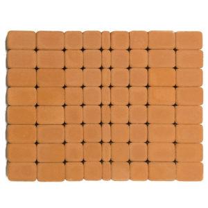 Тротуарная плитка Классико, Янтарный, h=60 мм