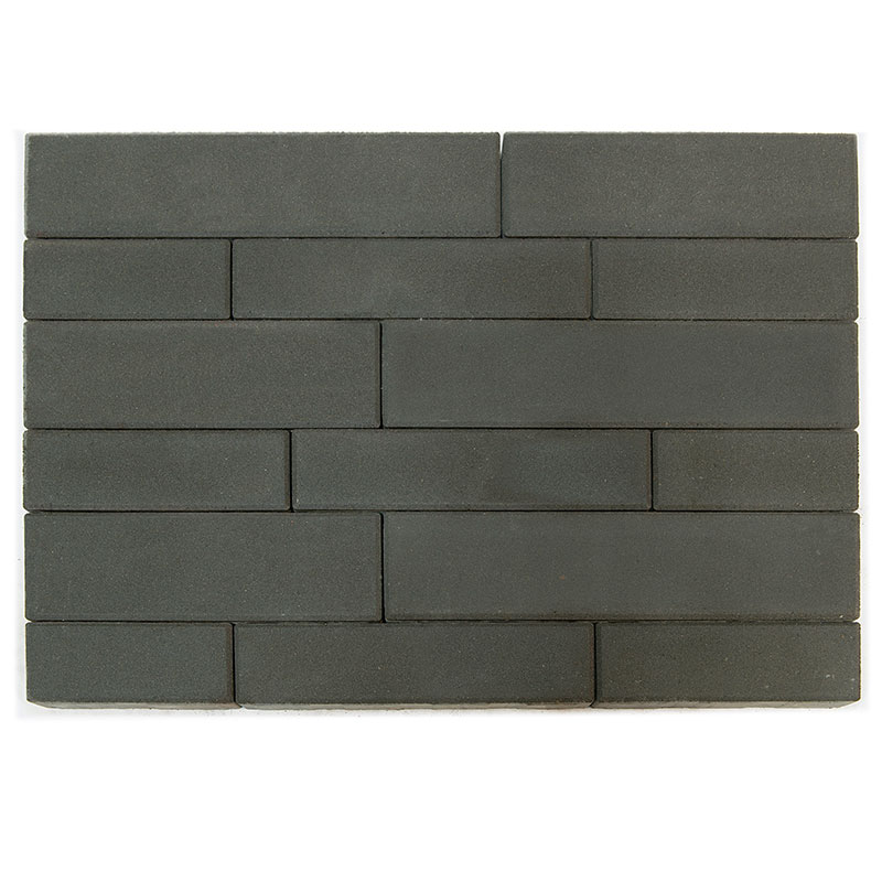 Тротуарная плитка Домино, Серый, h=60 мм