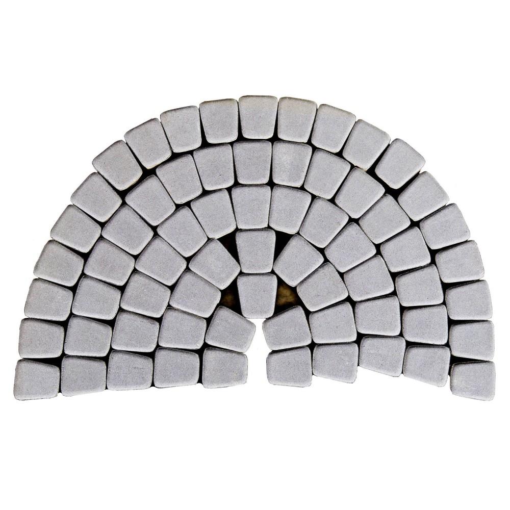 Тротуарная плитка Классико круговая, Грифильный, h=60 мм