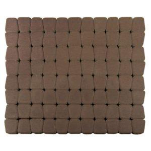 Тротуарная плитка Классико круговая, Коричневый, h=60 мм
