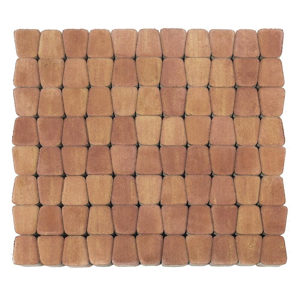 Тротуарная плитка Классико круговая, Рассвет, h=60 мм
