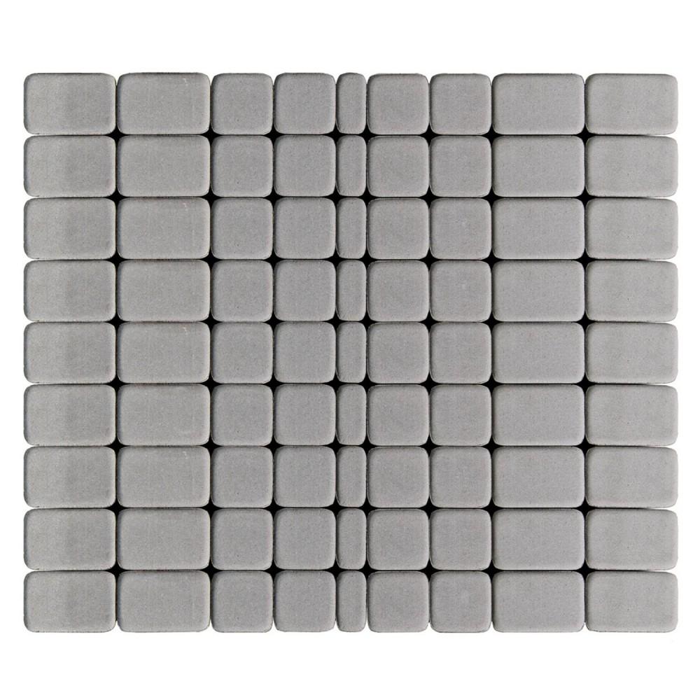 Тротуарная плитка Классико, Серый, h=60 мм