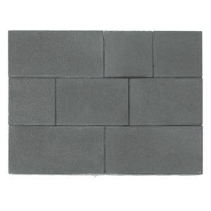 Тротуарная плитка Триада, Серый, h=60 мм