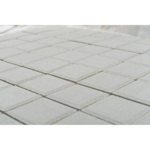 Тротуарная плитка Лувр, Белый, h=60