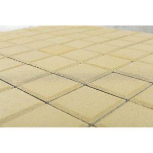 Тротуарная плитка Лувр, Песочный, h=60 мм, 200×200