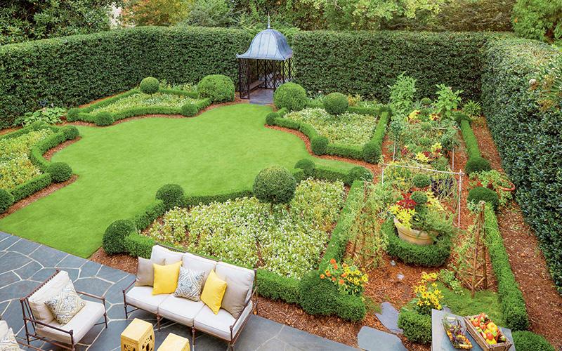 Ландшафтный дизайн садового участка 6 соток