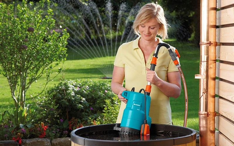 Бочковые насосы для полива огорода